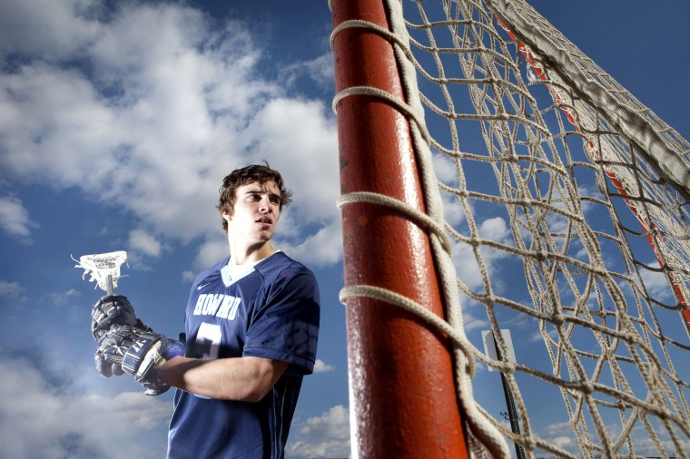 John Travisano, Howard lacrosse, March 2014