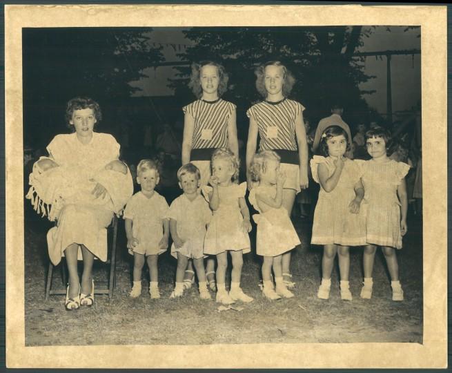 The 1949 Patterson Park Twin Show. (Baltimore Sun file photo)