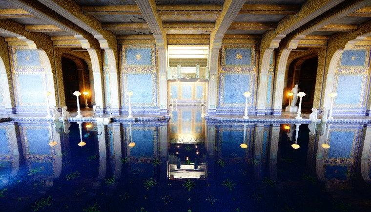 The Neptune Pool in the Hearst Castle is one of a kind.