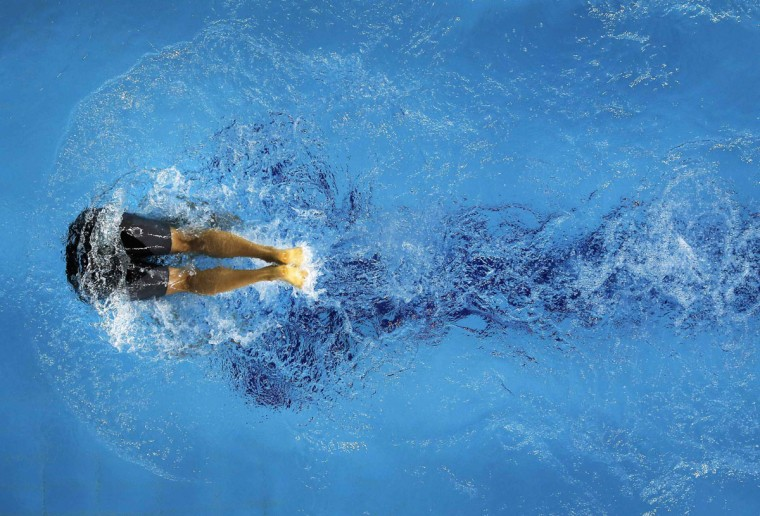 Bronze medallist Asami Chida of Japan competes in the women's 800m freestyle final swimming competition at Munhak Park Tae-hwan Aquatics Center during the 17th Asian Games in Incheon September 25, 2014. (REUTERS/Tim Wimborne)