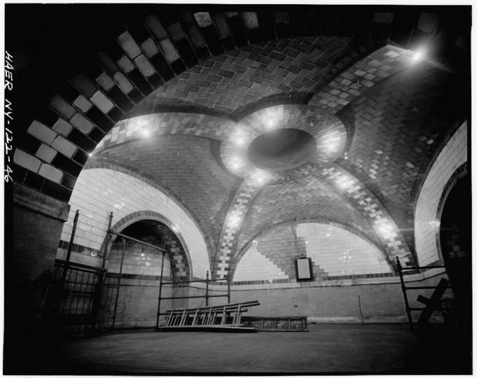 City Hall station control room, Interborough Rapid Transit Subway (Original Line), New York, New York County, NY. (Library of Congress)