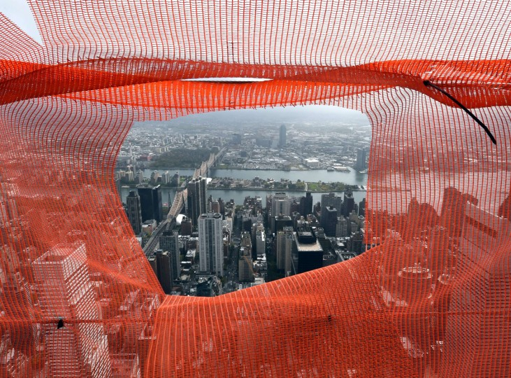 A view of New York city to east from the 75th floor of 432 Park Avenue October 15, 2014 the day after it earned the distinction of being the country's tallest residential skyscraper. (Timothy A. Clary/AFP/Getty Images)