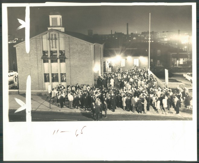 Good Friday at Saint Nicholas Greek Otrhodox Church on South Ponca. (Sun archives/April 1969)