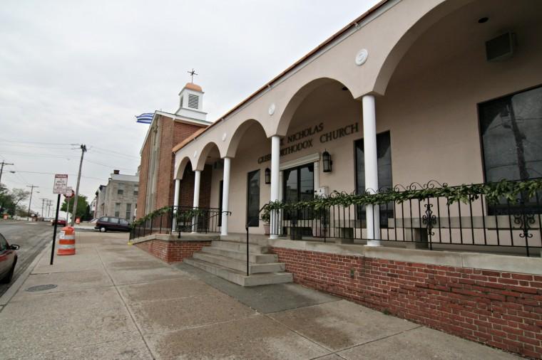 5/1/08: St. Nicholas Greek Orthodox Church in Greektown. (Kathryn Whitney/Baltimore Sun)