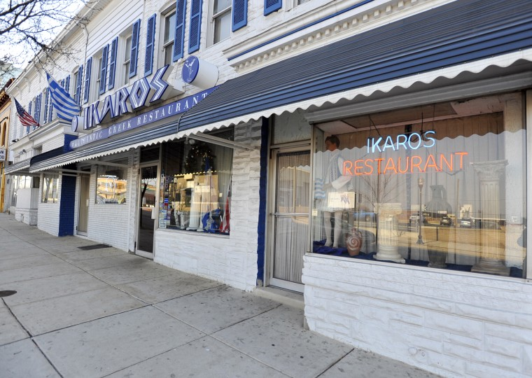 1/6/11: Ikaros, a classic Greektown restaurant, has changed its face several times over the years. (Kim Hairston/Baltimore Sun)