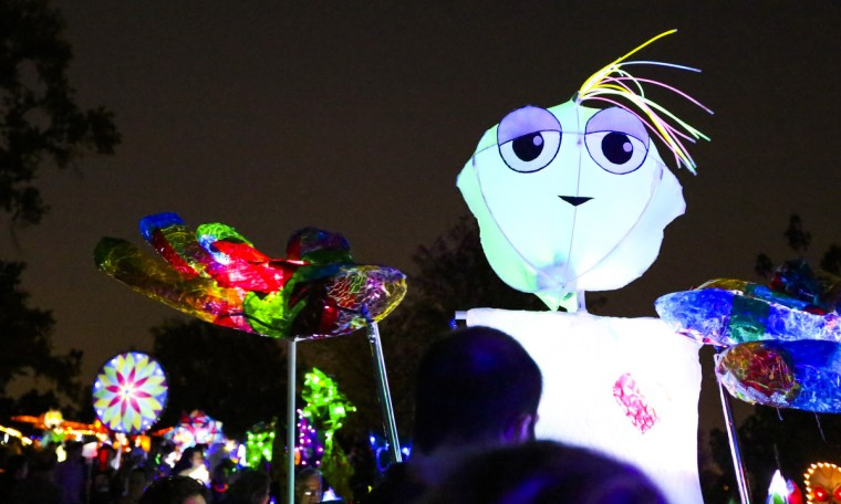 The annual Halloween Lantern Parade at Patterson Park took place this past weekend. (Kaitlin Newman/Baltimore Sun)