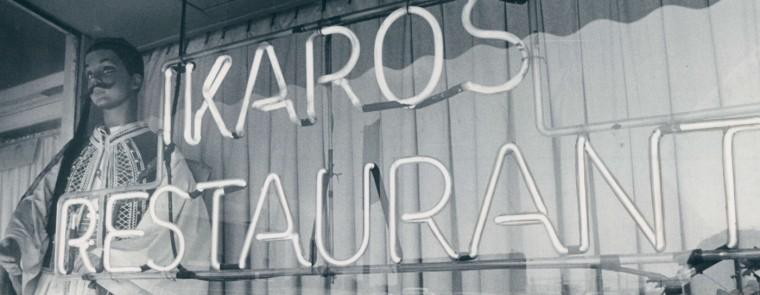 The Ikaros Restaurant in Greektown. (Sun archives)