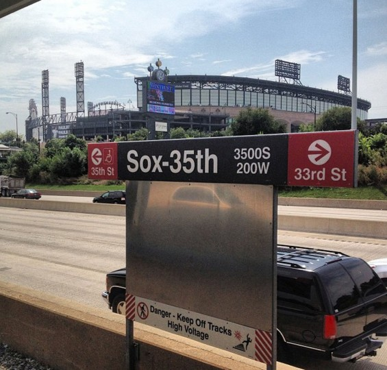 Back at U.S. Cellular Field for Game 2 of Orioles and White Sox on August 19, 2014.
