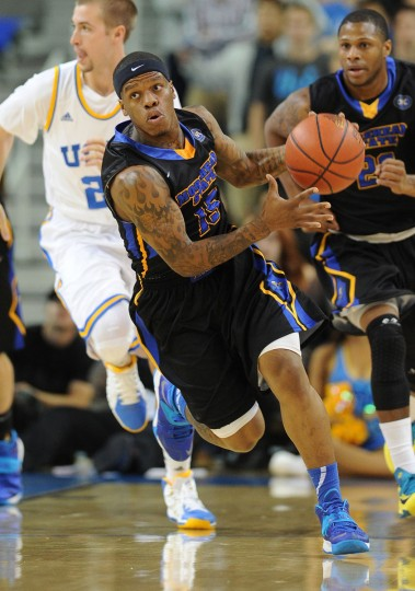 Name: Kareem Storey College: Morehead State Position: Guard Year: Senior High school: Princeton Day Academy Hometown: Baltimore 2013-14 stats: 6.8 points, 5.1 assists In his first season after transferring from the College of Southern Idaho, Storey assumed starting point guard duties for the Eagles and led them to a 20-win season and an appearance in the College Basketball Invitational. One of the top playmakers in the Ohio Valley Conference, Storey — who started his college career at Utah — tied Morehead's single-game assist record with 16 against South Dakota. (Jayne Kamin-Oncea-USA TODAY Sports)
