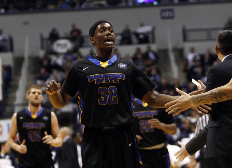 Name: Brent Arrington College: Morehead State Position: Guard Year: Junior High school: Lansdowne Hometown: Baltimore 2013-14 stats: 11.8 points, 3.2 rebounds, 42% shooting from field After helping Mississippi Valley State to the NCAA tournament during the 2011-12 season, Arrington followed coach Sean Woods to Morehead State. He sat out the following year as a transfer student, and then emerged as a redshirt sophomore as one of the top newcomers in the Ohio Valley Conference. Arrington reached double figures in scoring last season in 19 of 34 games. (Frank Victores-USA TODAY Sports)