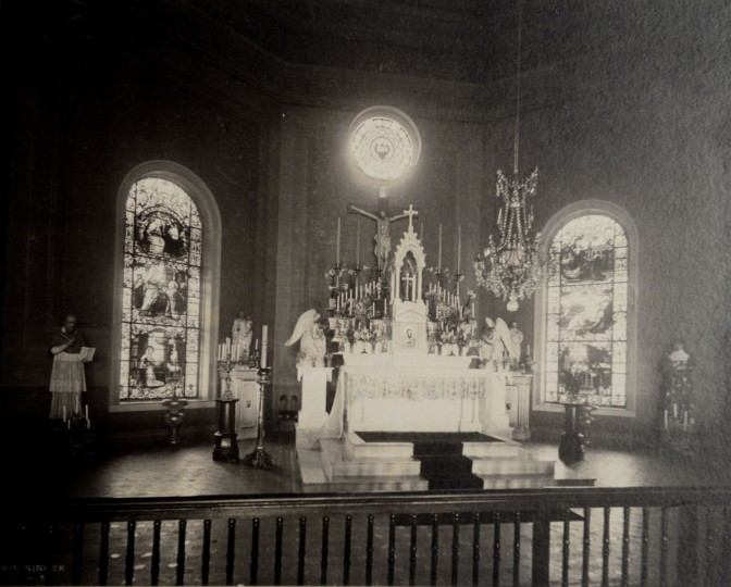 The old chapel at Mount de Sales.