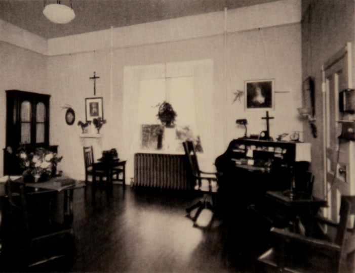 The directress' office.