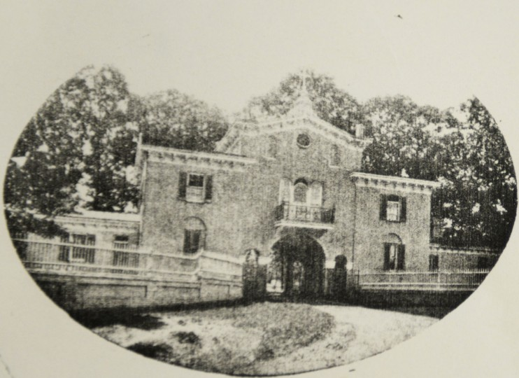 The Mount de Sales gatehouse.