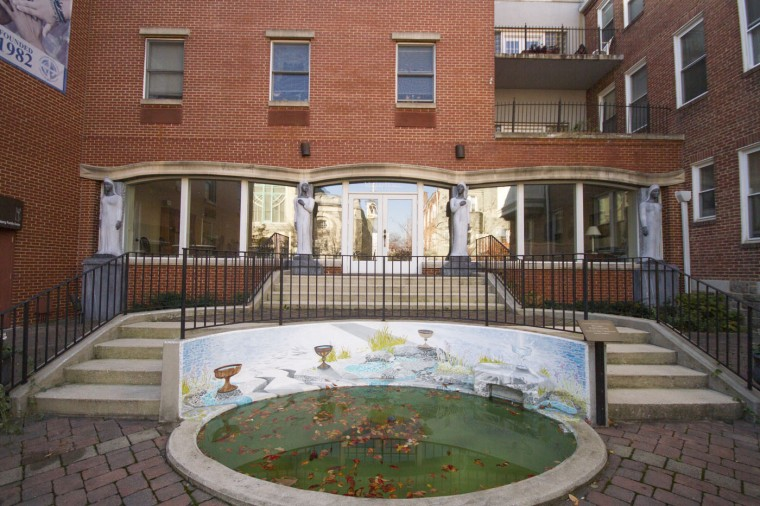 "Marian House opened ""Serenity Place"", an apartment building for low-income individuals and families across the street from their headquarters on Gorsuch Avenue in Better Waverly. (Kalani Gordon/Baltimore Sun/Nov. 2014)"