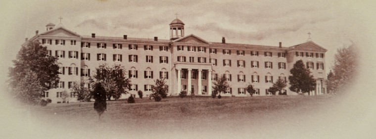 Wide photo of Mount de Sales after addition of B-wing.