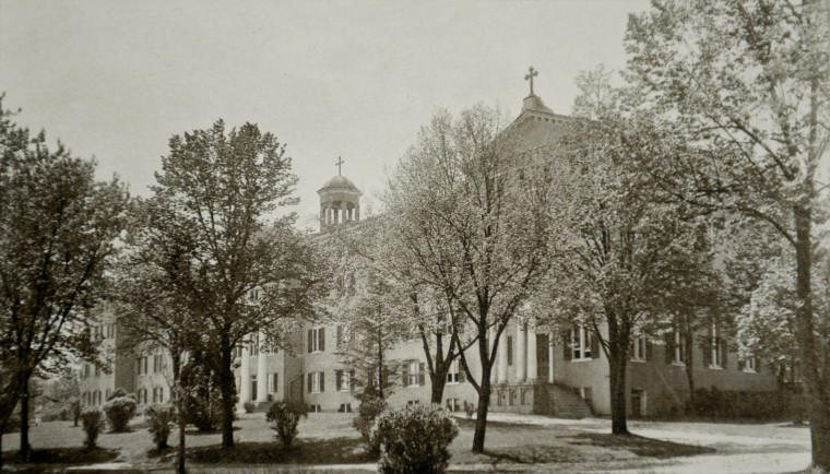 Mount de Sales, after addition of B-wing.