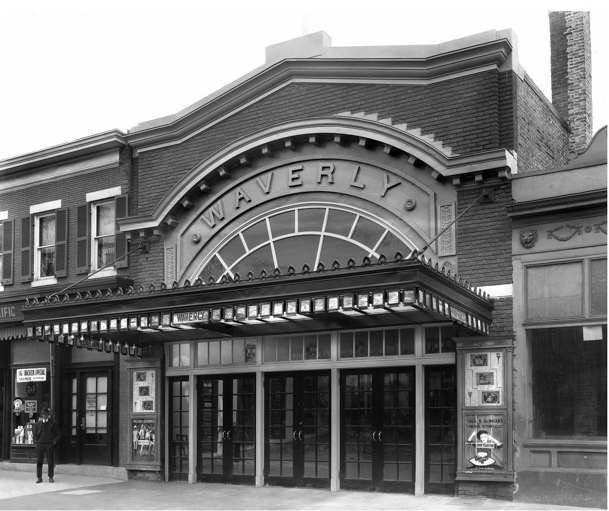 Waverly Theater in 1931. (Courtesy of the Maryland Historical Society and Joe Stewart)