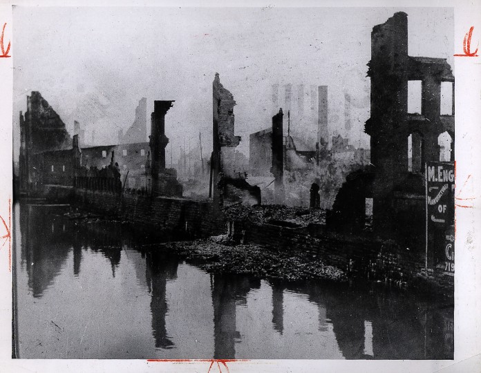 "We target=""_blank"">dug back through the archives to find photos of the Great Baltimore Fire of 1904, which started at 10:50 a.m. on Feb. 7 and raged on until 5 p.m. the next day."