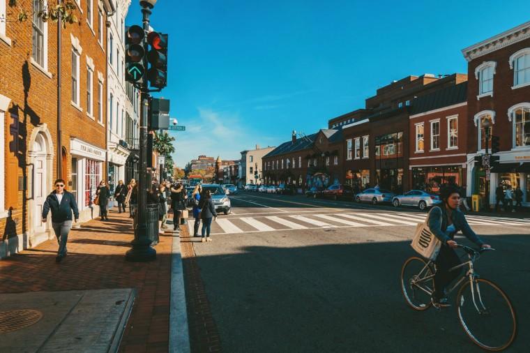 Georgetown Bike- Georgetown, D.C.