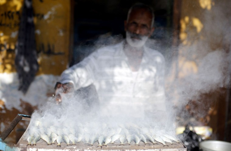 "A man grills fish to sell, in front of his house in the fishermen's village in El Max in the Mediterranean city of Alexandria. El Max, where hundreds of boats dart through the canals, has been called the ""Venice of Egypt"" for its waterways and relaxed atmosphere. Its fishermen, however, worry about how they will make ends meet on meagre earnings they say are being reduced further by polluted waters that are making fishing more difficult. While the government has tried to fix the state's bloated finances by cutting subsidies and reining in spending, some argue the reforms hurt Egypt's most vulnerable who have long relied on a generous system of fuel and food subsidies to supplement low incomes. (Amr Abdallah Dalsh/Reuters)"