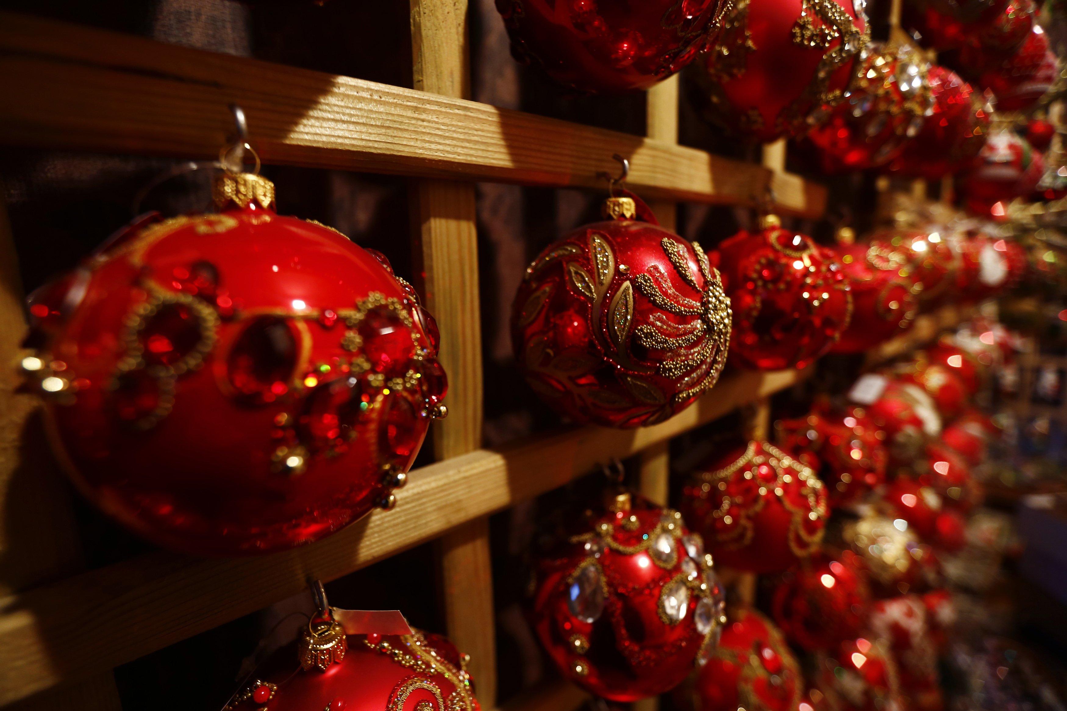 Hand Blown Polish Christmas Ornaments