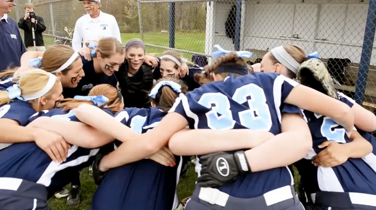 Our partners with Baltimore Sun Media Group took a look behind-the-scenes at several area sports teams in a video series this year. Here, Howard High School's softball program, give insight into this year's team as they practice for and face rival Mt. Hebron.