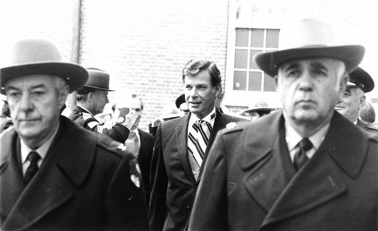 Harry Hughes 1979 inauguration. (Baltimore Sun file photo)