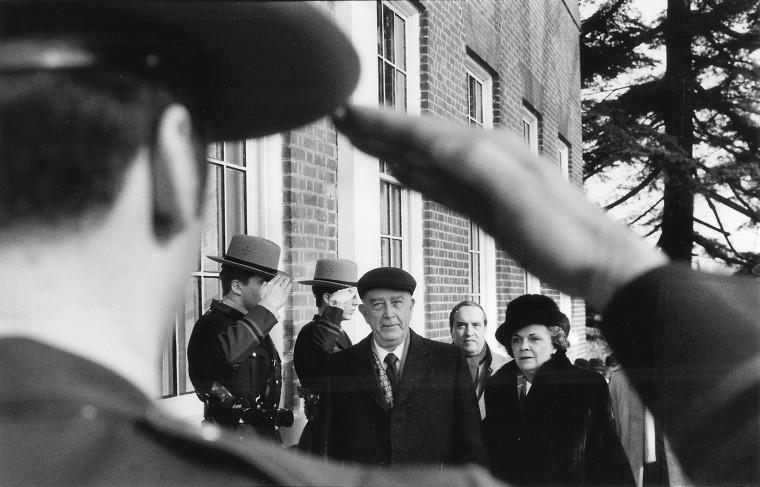 William Donald Schaefer's 1987 inauguration. (Baltimore Sun file photo)