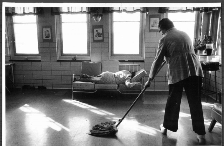 Crownsville State Hospital, Feb. 10, 1980