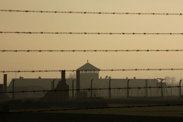 A general view of the Auschwitz II Birkenau extermination camp at dawn on November 13, 2014 in Oswiecim, Poland. Ceremonies marking the 70th anniversary of the liberation of the camp by Soviet soldiers are due to take place on January 27, 2015. (Photo by Christopher Furlong/Getty Images)