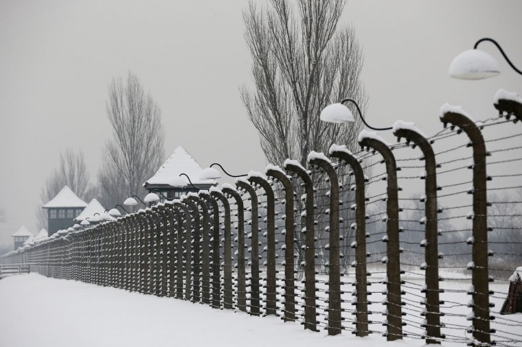 A blanket of snow covers the former Auschwitz II Birkenau concentration camp ahead of commemorations marking the 70th anniversary since its liberation, on January 26, 2015 in Oswiecim, Poland. (Photo by Christopher Furlong/Getty Images)