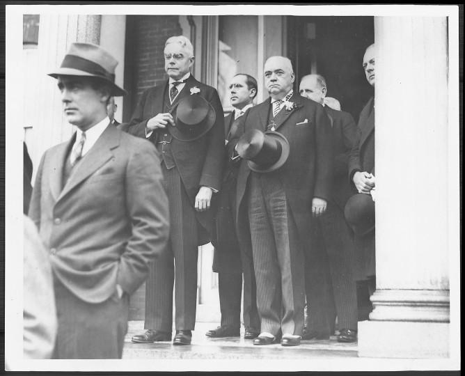 Harry W. Nice's 1935 inauguration. (Baltimore Sun file photo)