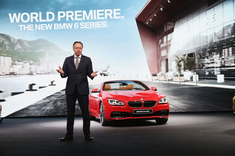 Ian Robertson introduces BMW's new line of 6 Series cars at the North American International Auto Show (NAIAS) on January 12, 2015 in Detroit. (Photo by Scott Olson/Getty Images)