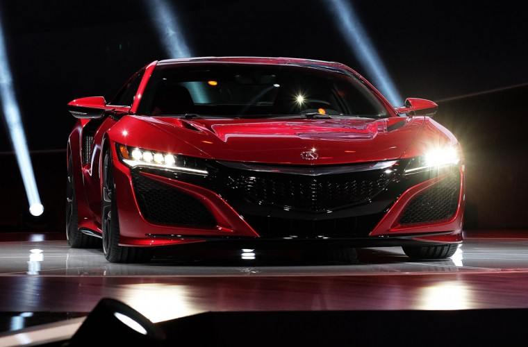 Acura reveals its new NSX at The North American International Auto Show in Detroit, Michigan, on January 12, 2015. (JEWEL SAMAD/AFP/Getty Images)