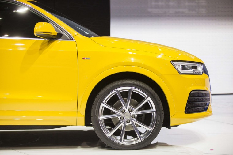 The new Audi Q3 is introduced at the 2015 North American International Auto Show in Detroit, Michigan, January 12, 2015. (GEOFF ROBINS/AFP/Getty Images)