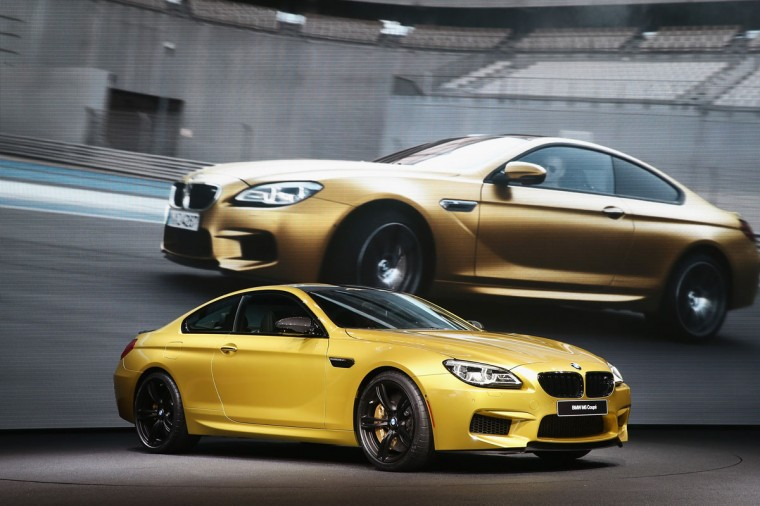BMW introduces the new line of 6 Series cars at the North American International Auto Show (NAIAS) on January 12, 2015 in Detroit. (Photo by Scott Olson/Getty Images)