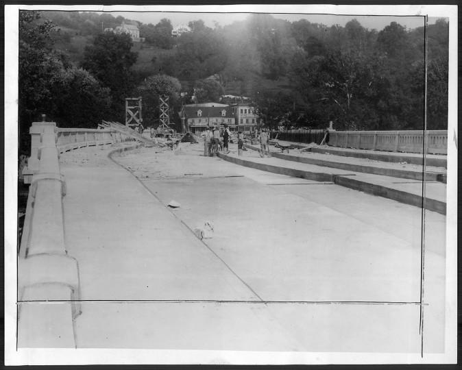Mount Washington vieduct. Sun file photo, Sept. 10, 1926.