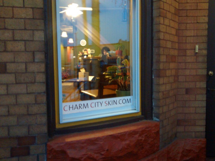 Nicole of Charm City Skin was upset that I haven't visited her lately. Now I'm sure she will be upset that I did today.