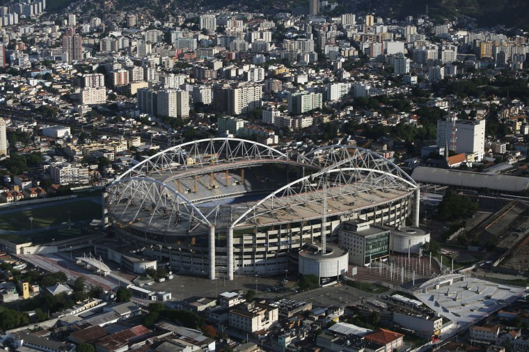 Olympic Stadium, a primary Rio 2016 Olympic Games venue, is shown on February 24, 2015 in Rio de Janeiro, Brazil. The city of Rio continues to prepare to host the upcoming Olympic Games which kickoff on August 5, 2016. (Photo by Mario Tama/Getty Images)