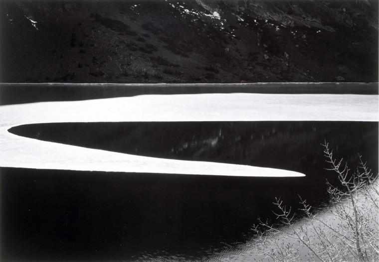 Ice on Ellery Lake (Ansel Adams)
