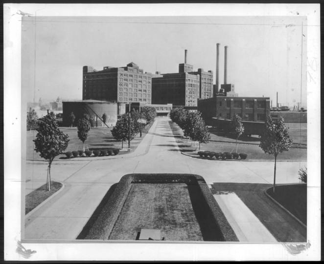 The sugar refinery in Baltimore.
