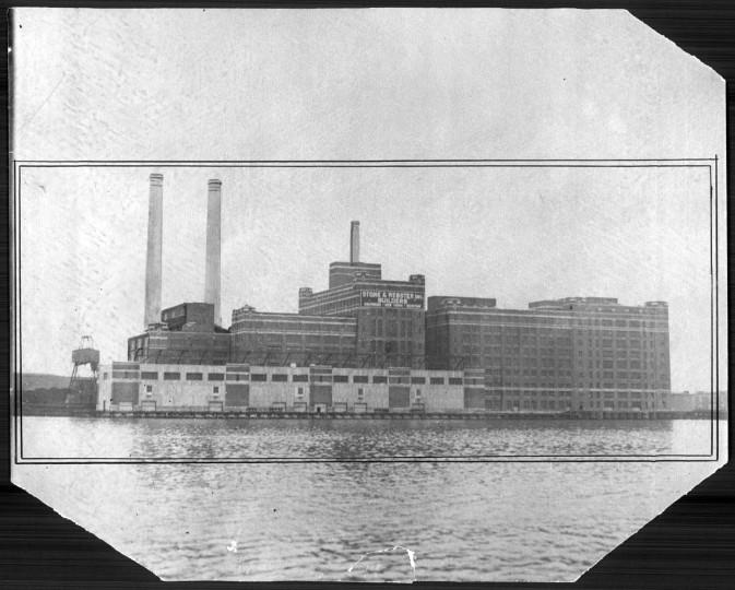 February 15, 1922: Baltimore's Sugar refinery.