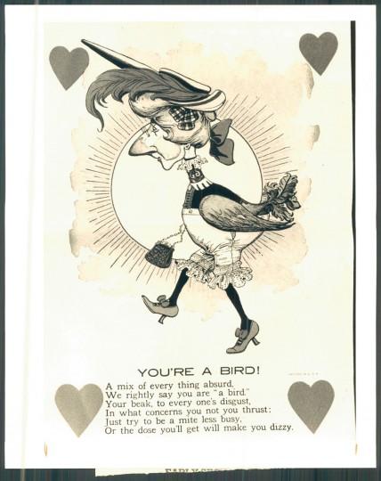 Antique valentine (Baltimore Sun, 1985)