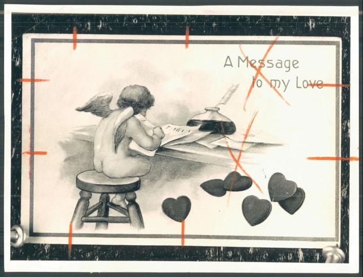 Antique valentine (Baltimore Sun, 1956)