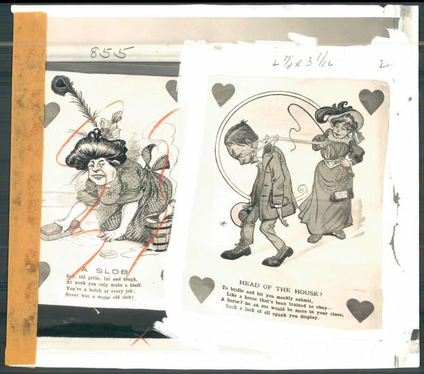 Antique valentines (Baltimore Sun, 1956)