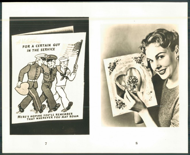 Antique valentines (Baltimore Sun, 1953)