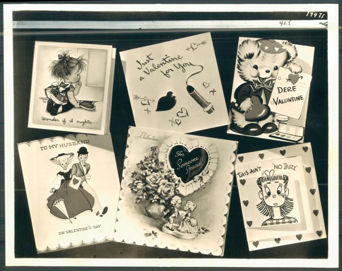 Antique valentines (Baltimore Sun, 1947)