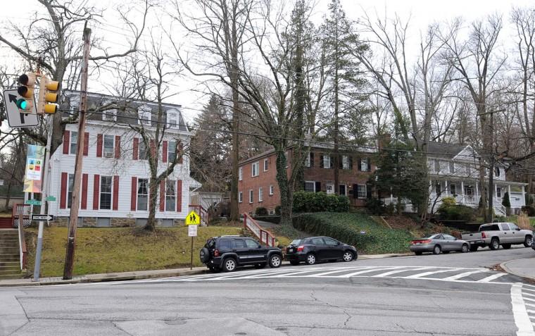 These homes are in the 1700 block of Sulgrave Ave. in Mt. Washington. Algerina Perna, Sun file photo, 12/27/12.