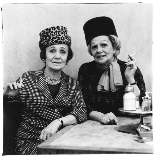 Two ladies at the automat, N.Y.C. 1966 (Diane Arbus)