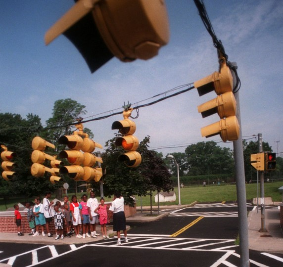 Let's not forget where it all began for many Baltimore natives -- Safety City in Druid Hill Park! You may not have picked up valuable three-point-turn skills there, but you definitely learned how to be a good pedestrian and practice bike safety at this mini metropolis.(Hillery Smith/Baltimore Sun, 1996)